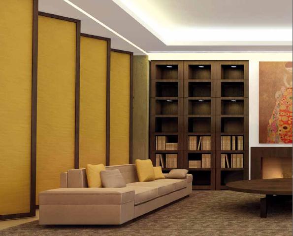 """摘 要:现代室内设计大致可以归纳为六个新趋势。  1、整体艺术化 室内设计是整体艺术,它应是空间、形体、色彩以及虚实关系的融会贯通,功能组合关系的水乳交融,意境创造以及与周围环境关系的协调一致。许多成功的室内设计实例都是艺术上强调整体统一的作品。  2、返璞归真化 在住宅中采用许多民间艺术手法,创造具有乡土风格的田园舒适气氛。设计师们不断在""""返璞归真""""上下工夫,强调自然色彩和天然材料的应用,创造新的肌理效果."""